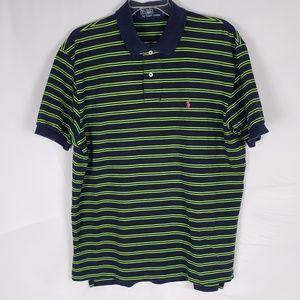 Polo By Ralph Lauren Men's Polo Shirt Navy Green